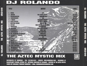 1999-07 - DJ Rolando - The Aztec Mystic Mix -2.jpg