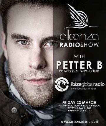 2013-03-22 - Petter B - Alleanza Radio Show 66, Ibiza Global Radio.jpg