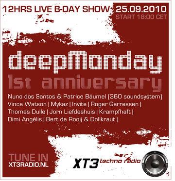 2010-09-25 - 1 Year Deep Monday, XT3 Radio.jpg