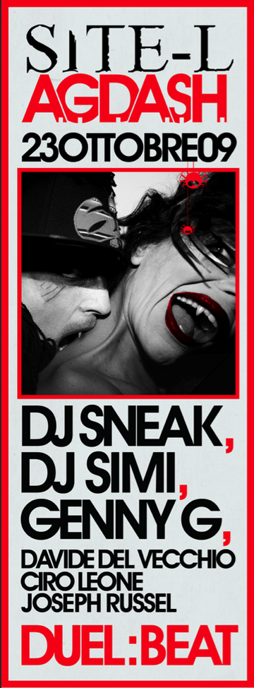 2009-10-23 - DJ Sneak @ Duel Beat, Napoli.png