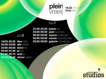 2013-02-16 - Pleinvrees, Amsterdam Studio's, Timetable -2.jpg