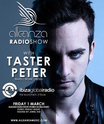2013-03-01 - Taster Peter - Alleanza Radio Show 63, Ibiza Global Radio.jpg