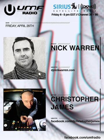 2011-04-29 - Nick Warren, Christopher James - UMF Radio 104.jpg