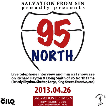 2013-04-26 - 95 North - Salvation From Sin, Radio Show, Montreal.png