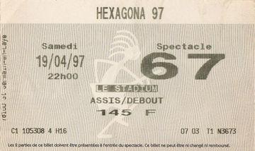 1997-04-19 - VA @ Hexagona, Bourges-Ticket.jpg