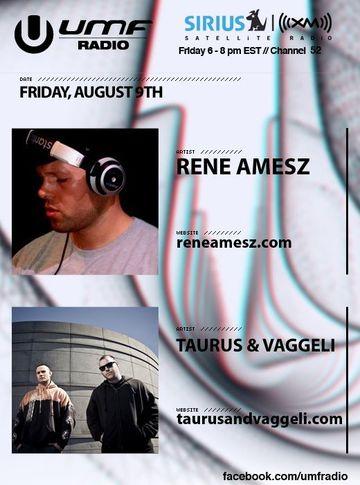 2011-09-09 - Rene Amesz, Taurus & Vaggneli - UMF Radio.jpg