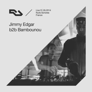 2014-09-27 - Jimmy Edgar b2b Bambounou - RA Live.jpg
