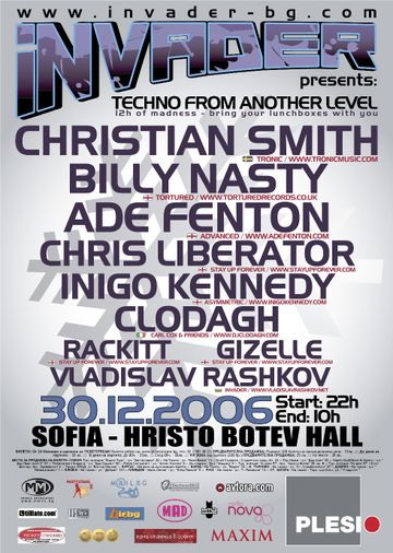 2006-12-30 - Invader, Techno From Another Level, Hristo Botev Hall.jpg
