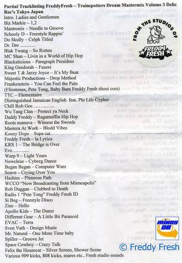 199X - Freddy Fresh - The Trainspotters Dream Mastermix Vol.3 -a.jpg