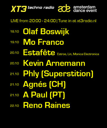 2010-10-21 - XT3 Radio, Amsterdam Dance Event Special.jpg