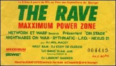 1990 Westbam The Rave Maxximum Le Bourget Paris 8