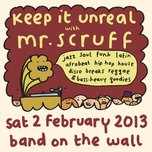 2013-02-02 - Keep It Unreal, Band On The Wall.jpg