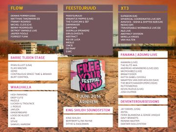 2014-06-07 - Free Your Mind Festival, Timetable.jpg