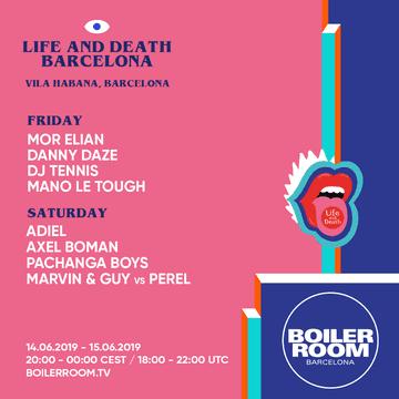 2019-06-14 - Mano Le Tough @ Life And Death x Boiler Room Barcelona
