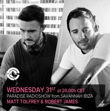 2013-07-31 - Matt Tolfrey & Robert James - Paradise Radio Show.jpg