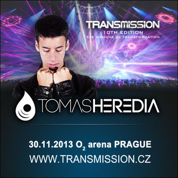 2013-11-30 - Tomas Heredia @ Transmission - The Machine Of Transformation, O2 Arena.jpg