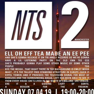 2019-04-07 - LOFT @ NTS Manchester | DJ sets & tracklists on MixesDB