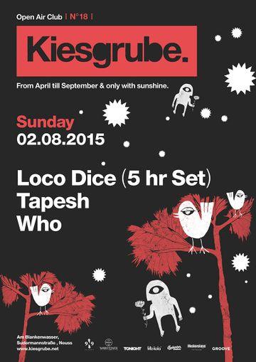 2015-08-02 - Tapesh @ Kiesgrube, Neuss, Germany | DJ sets