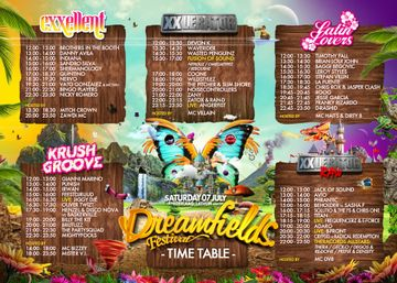 2012-07-07 - Dreamfields Festival, Timetable.jpg