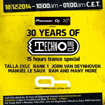 2014-12-18 - Techno Club 30 Years Special, AH.FM.jpg