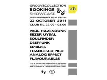 2011-10-23 - Groovecollection Bookings Showcase, Club NL.png