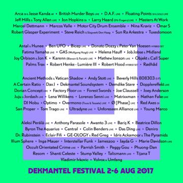 2017-08-05 - Jayda G @ Boiler Room x Dekmantel Festival