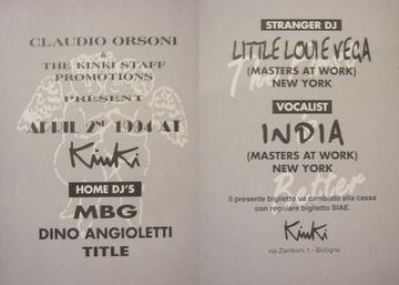 1994-04-09 - Little Louie Vega & India @ Kinki Club, Bologna.jpg
