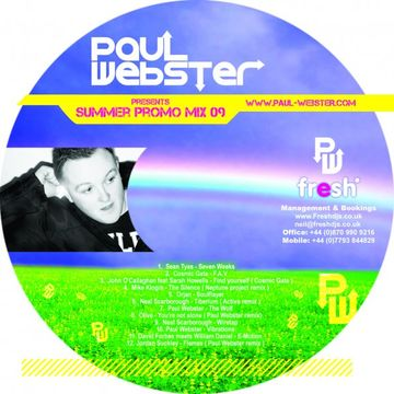 2009 - Paul Webster - Summer 2009 Promo Mix.jpg