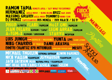 2012-09-01 - Funck You Outdoor Festival, Lineup.png