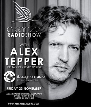 2012-11-23 - Alex Tepper - Alleanza Radio Show 49, Ibiza Global Radio.jpg