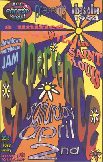 1994-04-02 - Experience, Saint Louis Flyer-Front.jpg