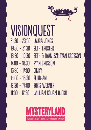 2012-08-25 - Mysteryland, Visionquest, Timetable.jpg