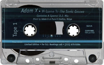1995 - Adam X - Welcome To The Sonic Groove -A.jpg