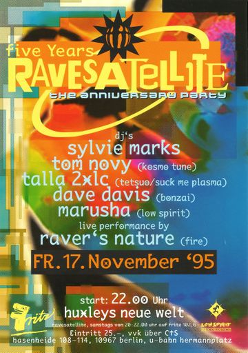 1995-11-17 - 5 Years Rave Satellite, Huxleys Neue Welt, Berlin.jpg