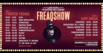 2012-12-31 - Freaqshow - The Twisted New Year's Celebration, Ziggo Dome, Timetable.jpg