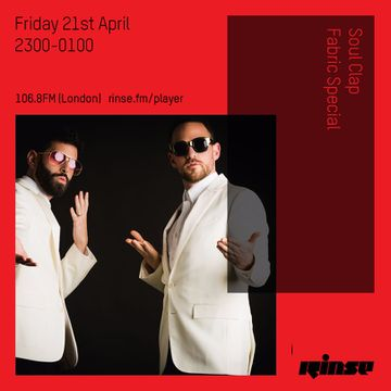2017-04-21 - Soul Clap - Rinse FM | DJ sets & tracklists on