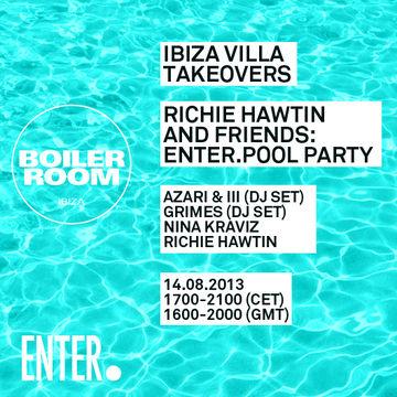 2013-08-14 - Richie Hawtin @ ENTER Pool Party, Ibiza Villa