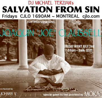 2010-07-02 - Joe Claussell - Salvation From Sin, Radio Show, Montreal.png