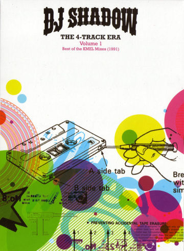 DJ Shadow - The 4-Track Era (Volume 1- Best Of The KMEL Mixes (1991)) -1.jpg