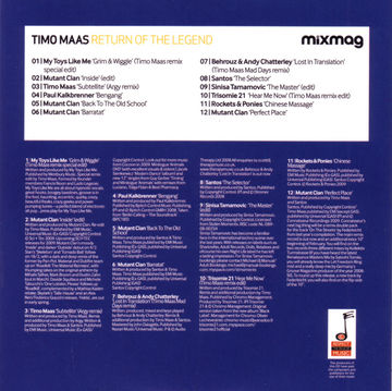 2009-02-18 - Timo Maas - Mixmag Presents Return Of The Legend (Promo Mix) -2.jpg