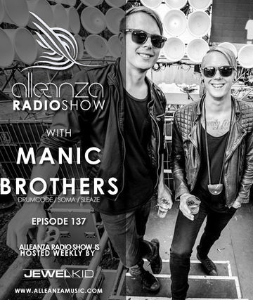 2014-08-08 - Manic Brothers - Alleanza Radio Show 137.jpg