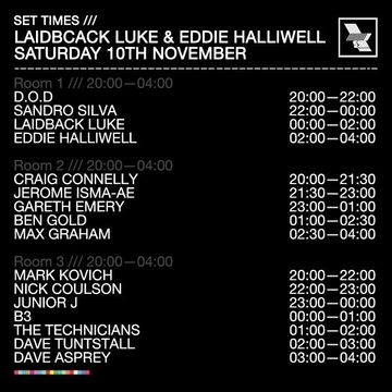 2012-11-10 - The Warehouse Project, Timetable.jpg