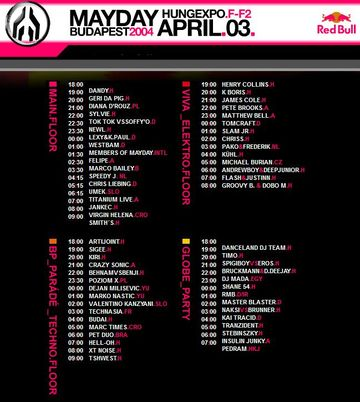 2004-04-03 - MayDay - Future Downloaded, Hungary, Lineup.jpg
