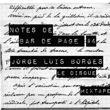 2016-03-17 - Jérôme Châtelain - J L  Borges - Le Disque