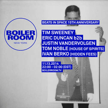 2014-11-13 - Boiler Room New York x 15 Years Beats In Space.png