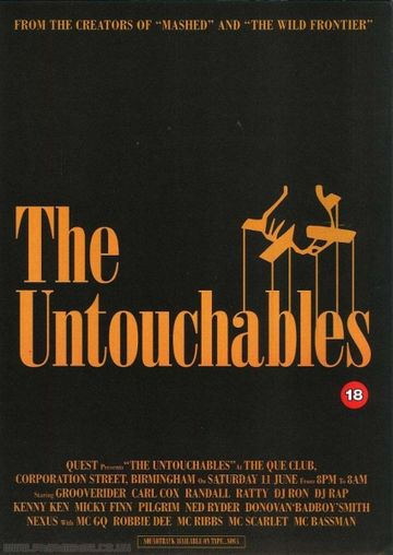 1994-06-11 - Quest - The Untouchables, Que Club.jpg