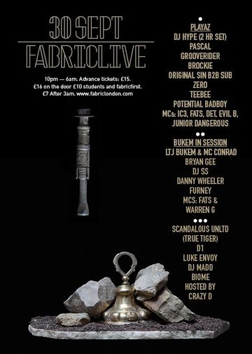 2011-09-30 - Playaz Fabriclive, fabric.jpg