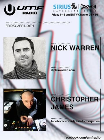 2011-04-29 - Nick Warren, Christopher James - UMF Radio 104.jpg