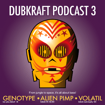2012-06-09 - Genotype, Alien Pimp, Volatil - DubKraft Podcast 03.png