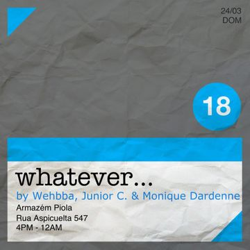 2013-03-24 - Whatever..., Warehouse Piola.jpg